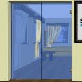 Celoskleněné dveře 011