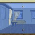 Celoskleněné  dveře 013