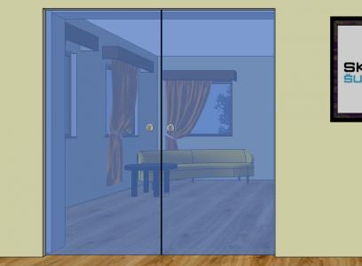 DP5 - Dveře posuvné do pouzdra