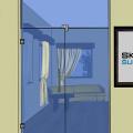 Celoskleněné  dveře 014